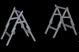 ПНС-1 - Подставки под носилки складные (общий вид)