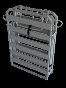 КГС - Кровать госпитальная складная в сложенном виде