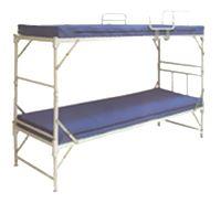 Кровать медицинская складная двухъярусная