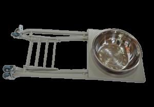 ПУСТ - Подставка универсальная складная для таза (в сложенном виде)