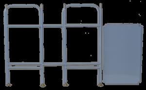 ССМ - Стеллаж складной малый (в сложенном виде)