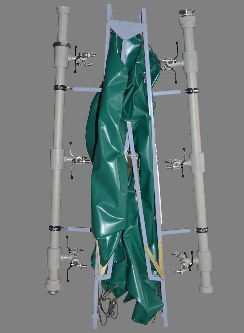 УПС-12 - Умывальник полевой складной (в сложенном виде)