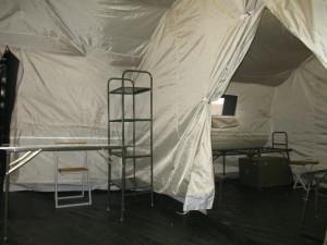 Приемно-сортировочный и эвакуационный отсеки КМП-СН