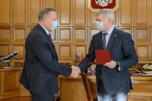 Губернатор наградил генерального директора «НПО «ПОЛЮС» за заслуги перед Воронежской областью